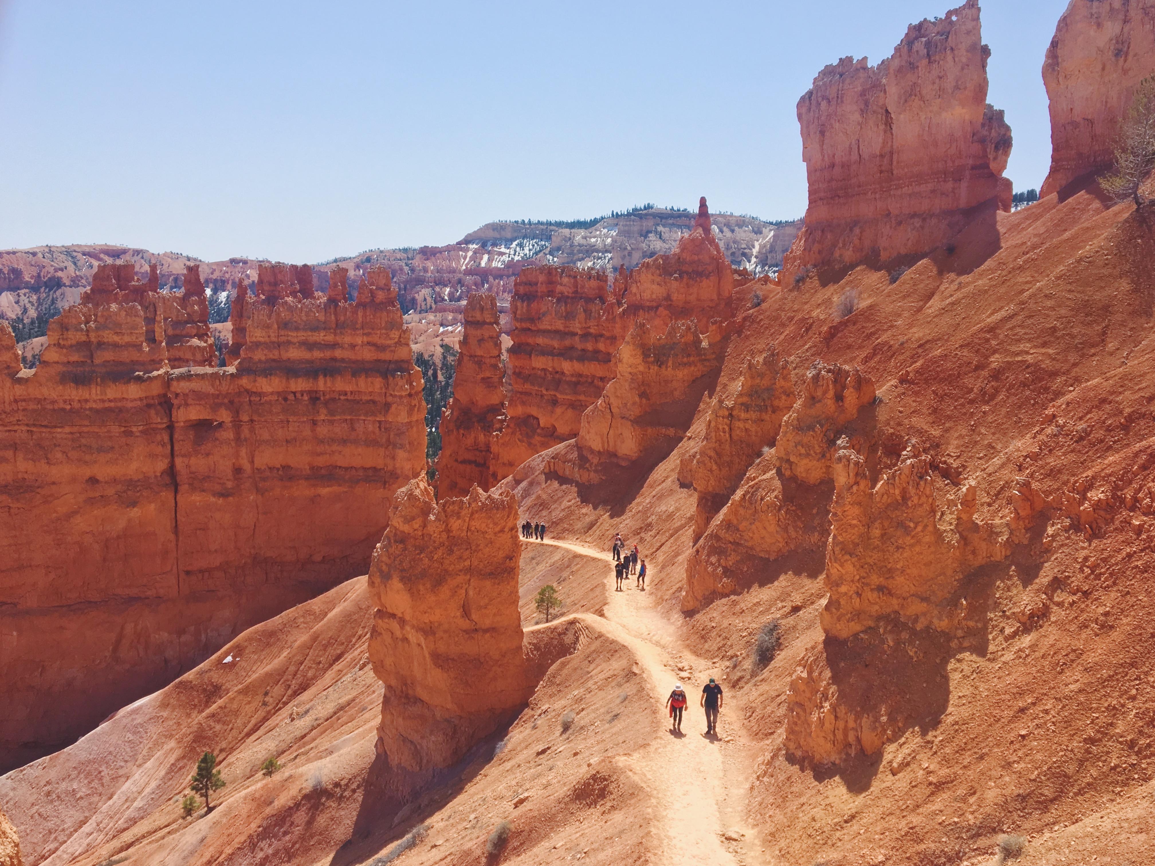 Il Navajo Loop Trail - sentiero al Bryce Canyon