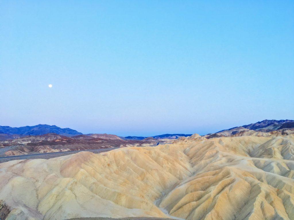 Il tramonto allo Zabriskie Point - Death Valley2