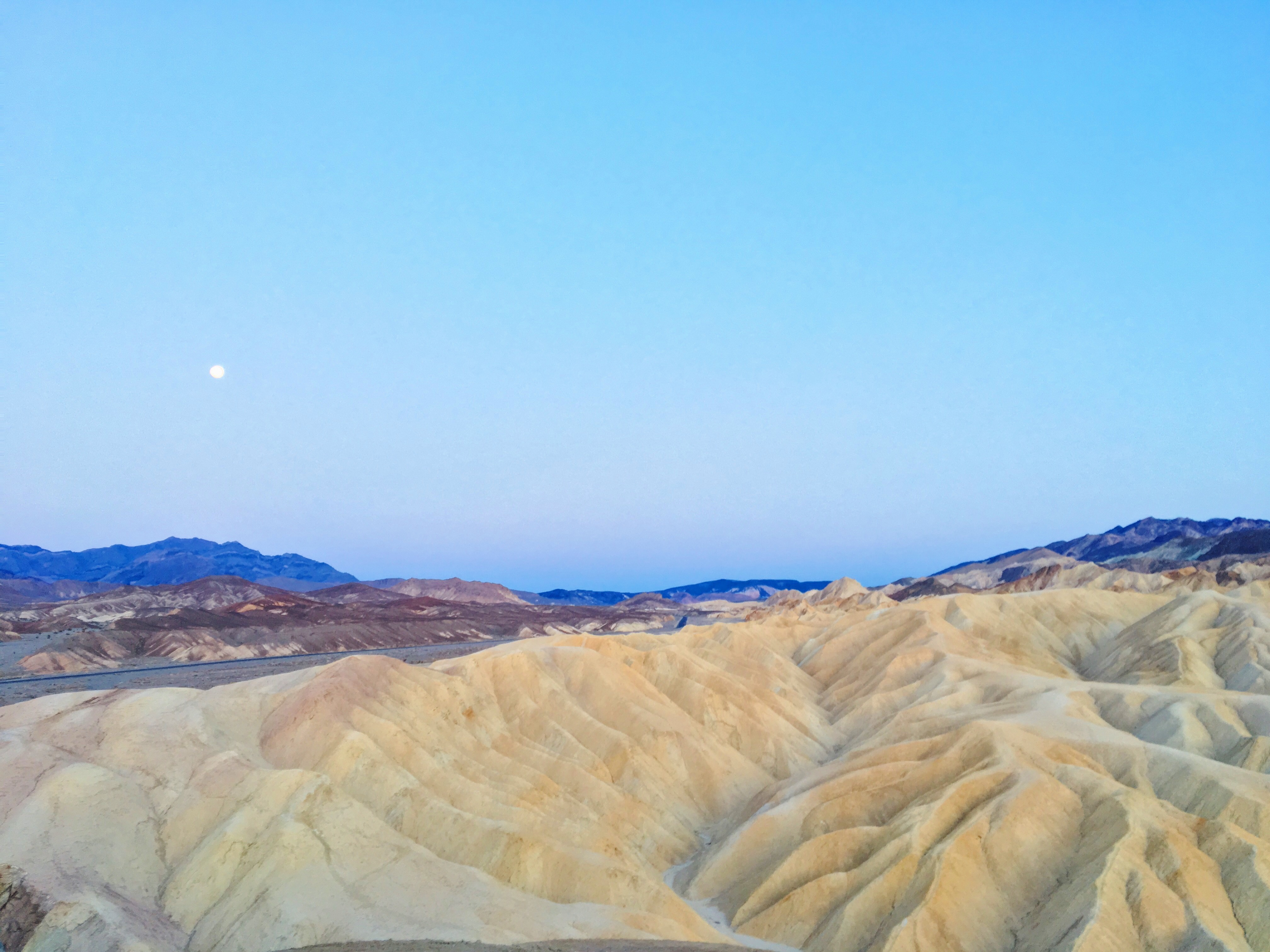 Il tramonto allo Zabriskie Point - Death Valley2