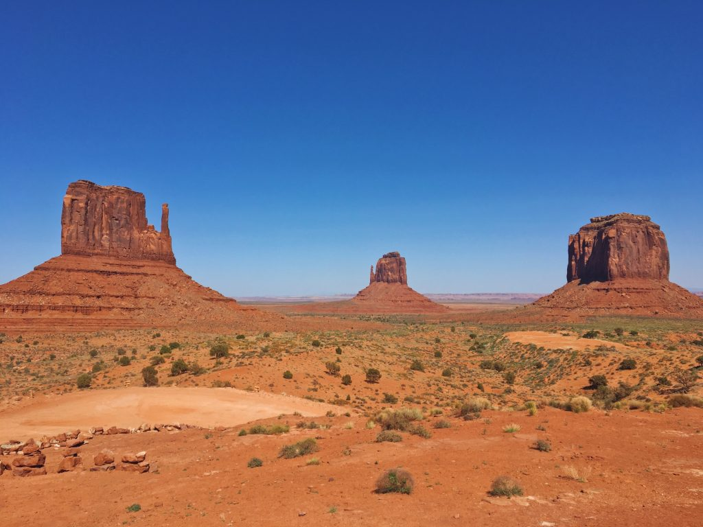 La Monument Valley - il luogo dove sono ambientati tutti i film western