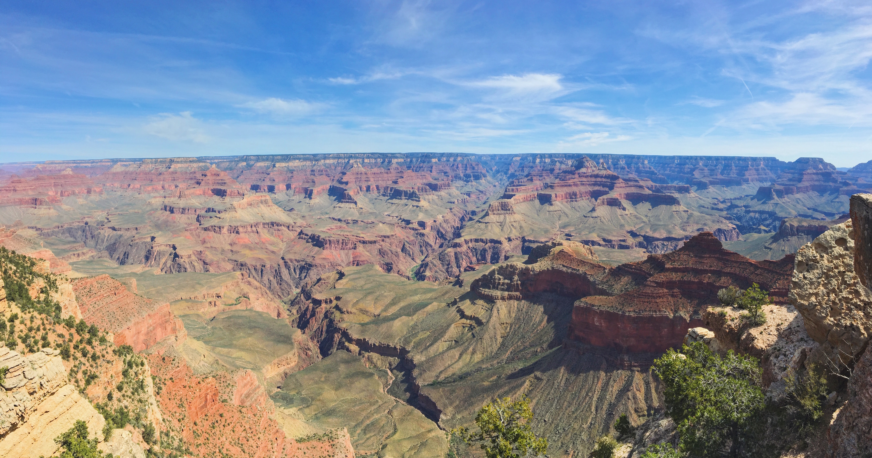 La vista dal Grand Canyon
