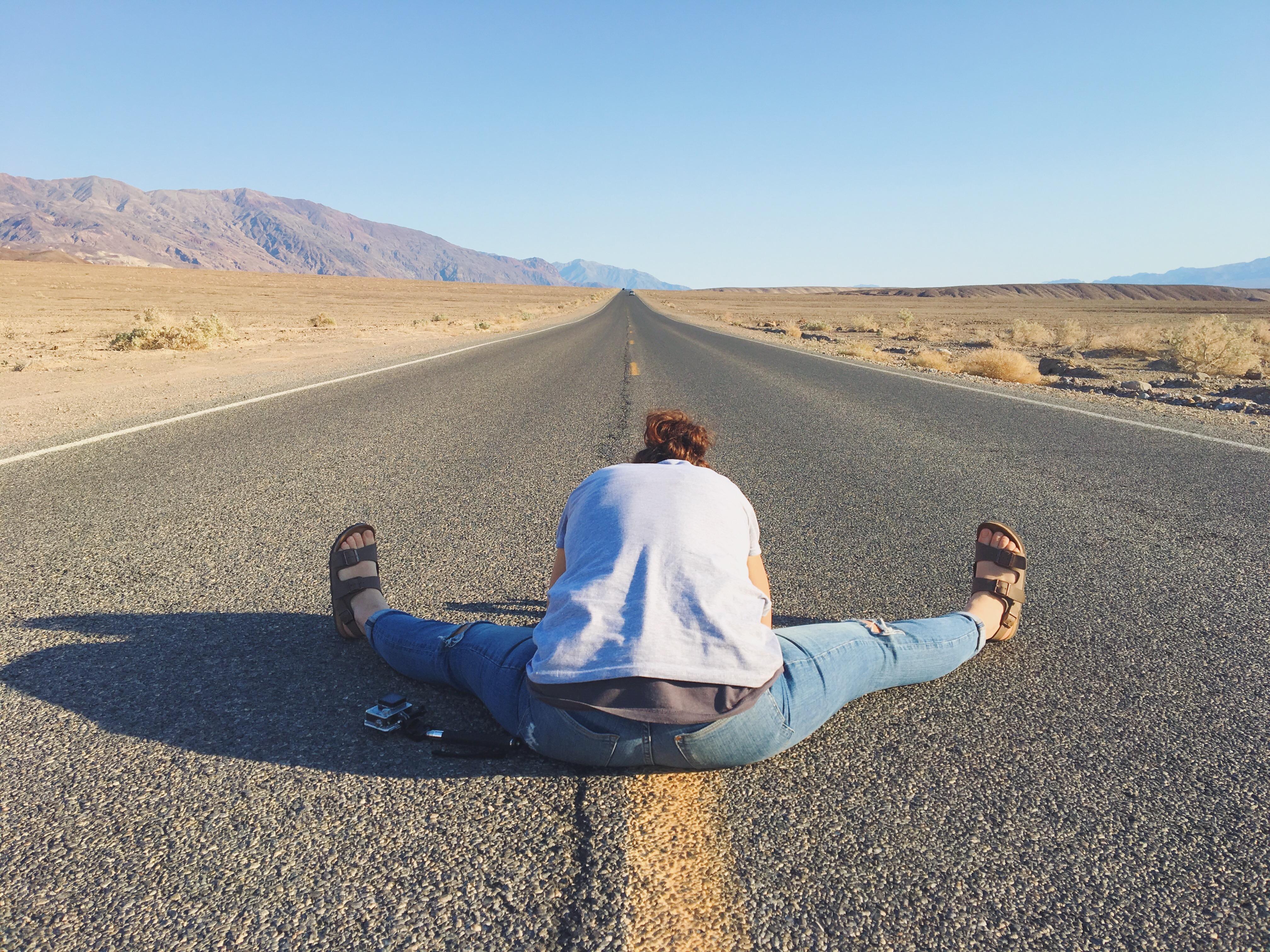 Le strade deserte della California