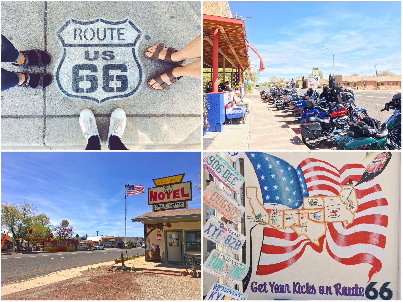 Percorrere la Route 66 on the road in Arizona e California