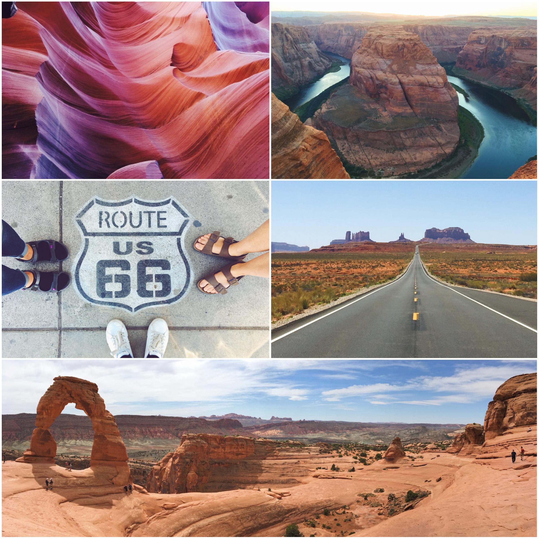 Roadtrip di 10 giorni negli Stati Uniti dell'ovest