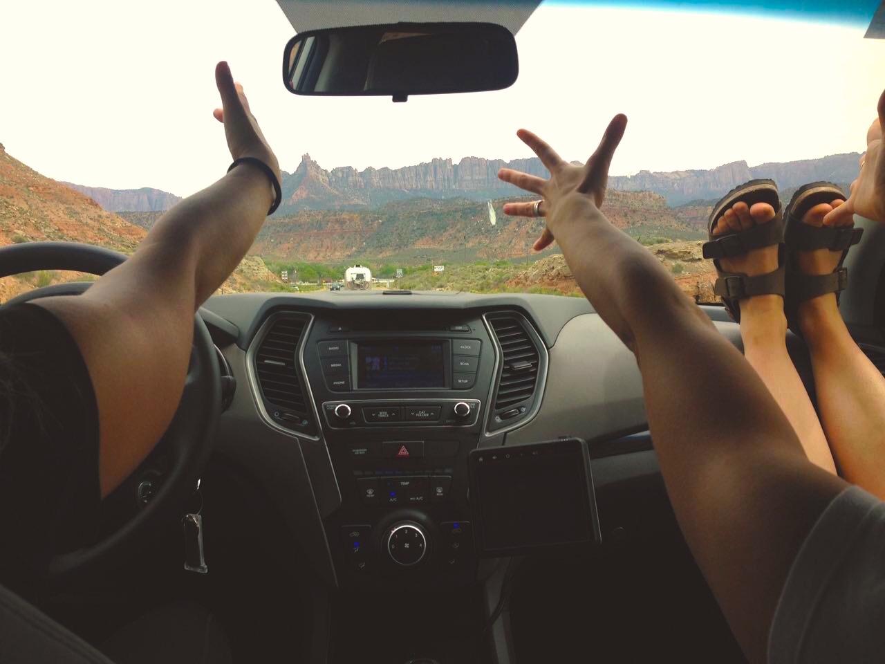 Un road trip e' tale solo se si canta forte