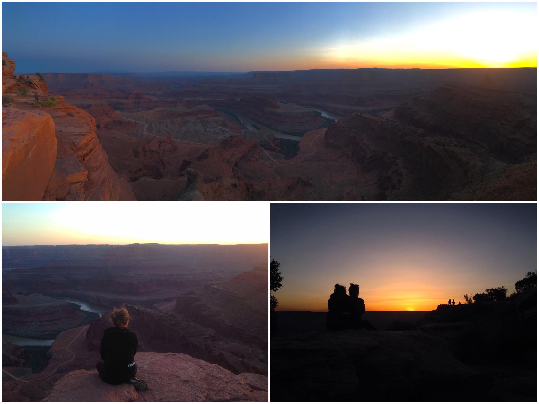 Vedere il tramonto al Dead Horse Point