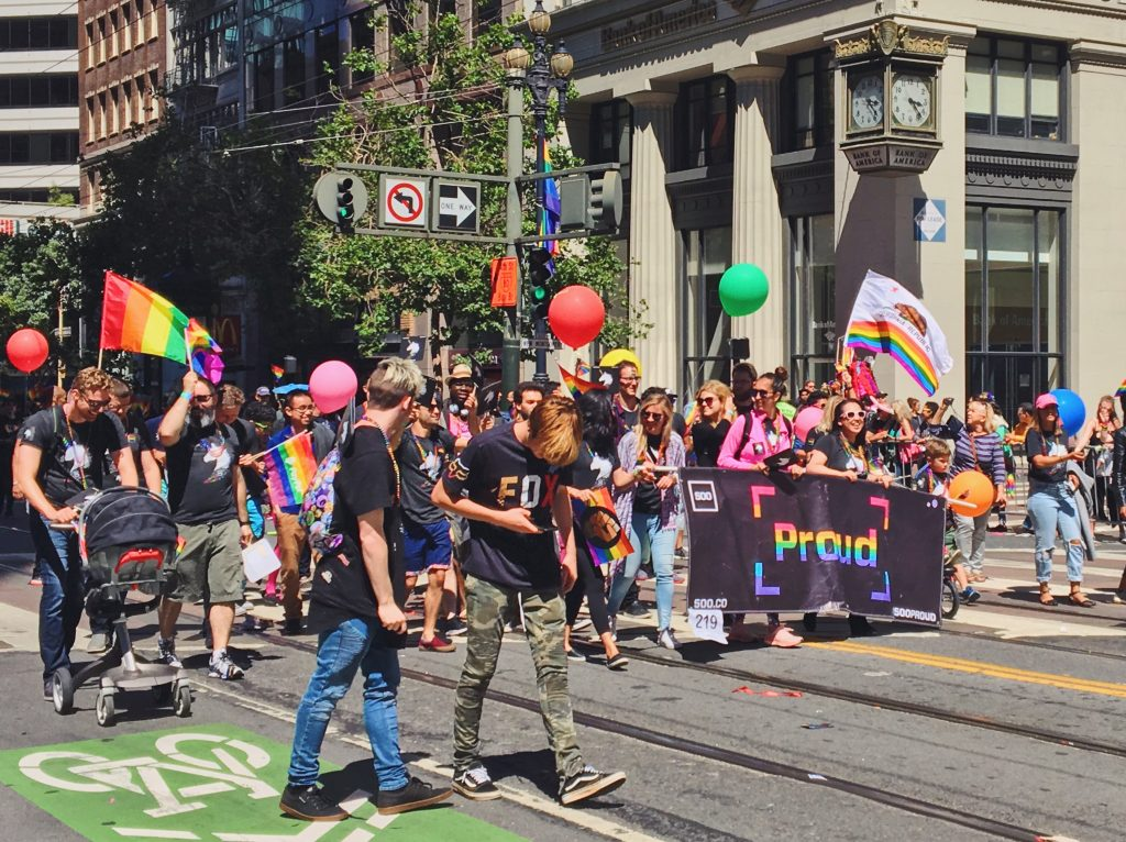 500 Startups 500Proud- L'evento migliore di San Francisco - la LGBTQ Pride Parade