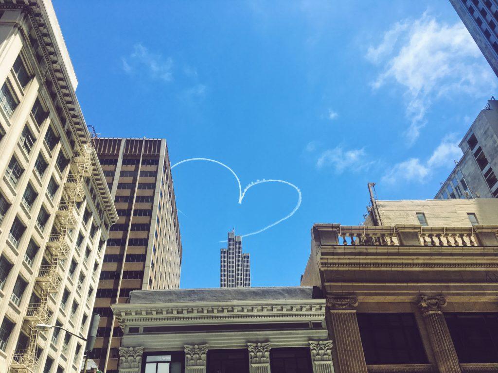 Cuore nel cielo - L'evento migliore di San Francisco - la LGBTQ Pride Parade