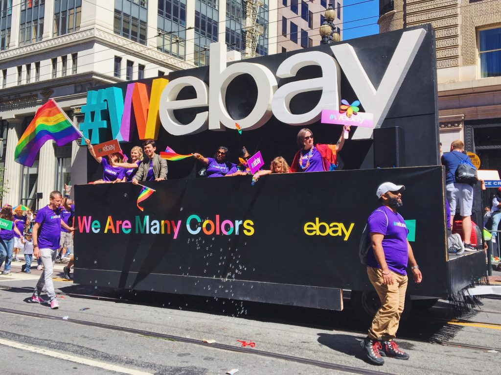 Ebay- L'evento migliore di San Francisco - la LGBTQ Pride Parade