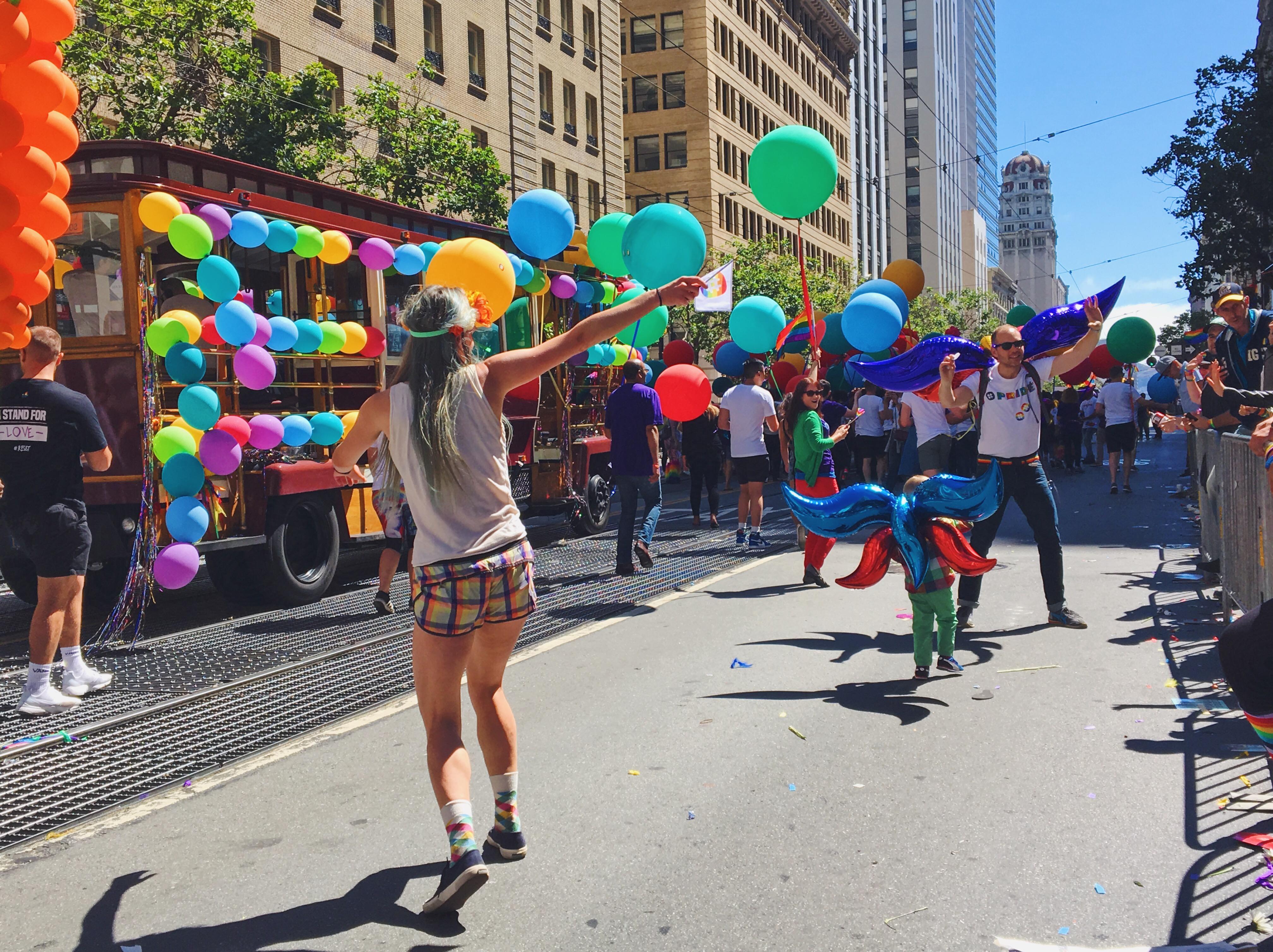 Goodvibes- L'evento migliore di San Francisco - la LGBTQ Pride Parade