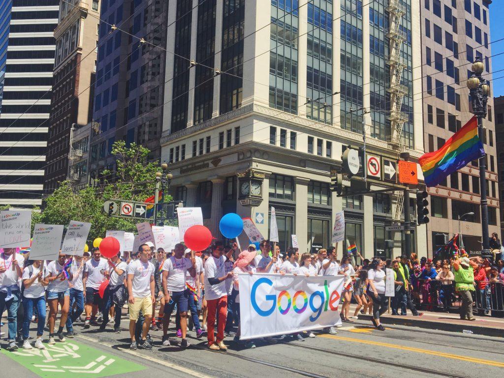Google - L'evento migliore di San Francisco - la LGBTQ Pride Parade