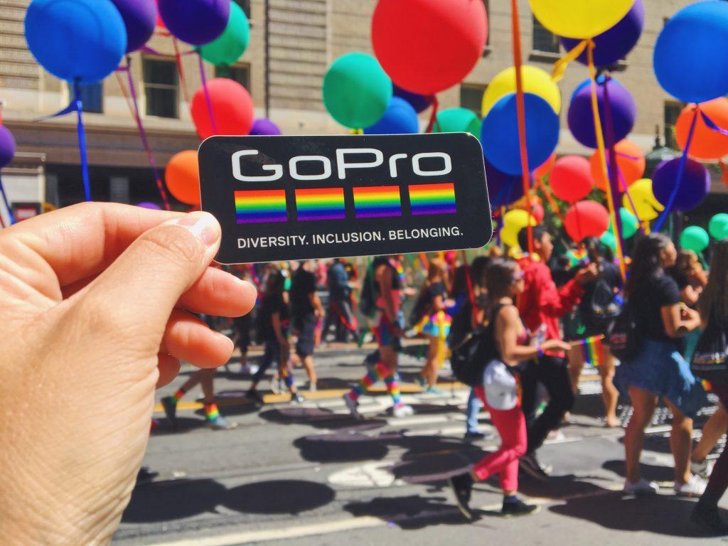 Gopro - L'evento migliore di San Francisco - la LGBTQ Pride Parade