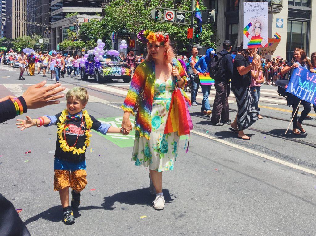 I bimbi alla parata - L'evento migliore di San Francisco - la LGBTQ Pride Parade