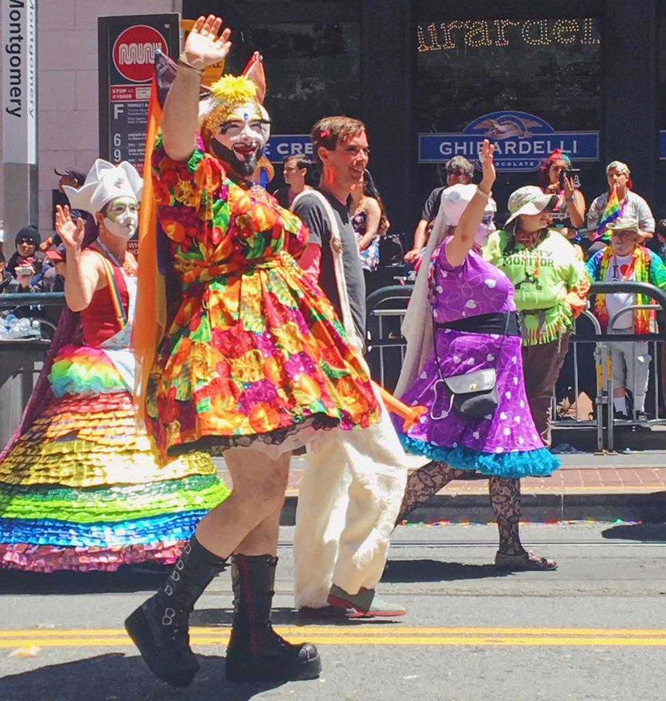 I migliori vestiti - L'evento migliore di San Francisco - la LGBTQ Pride Parade
