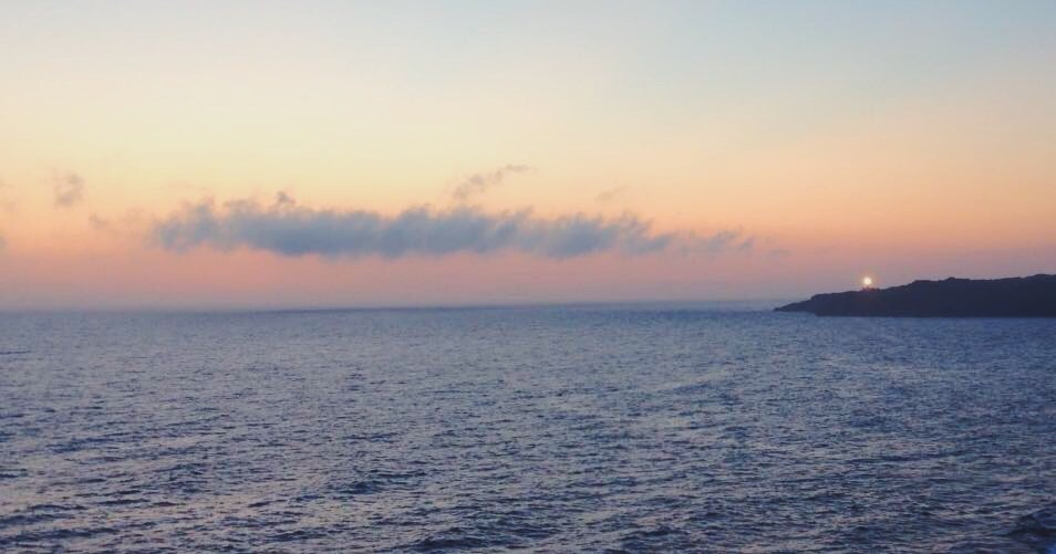 Il tramonto sul mare a Pantelleria -Dammusi Le Case del Principe