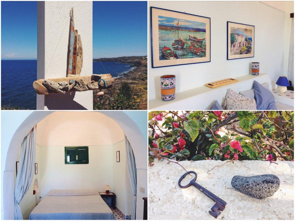 Interni dammuso- dove dormire in un dammuso sul mare a Pantelleria