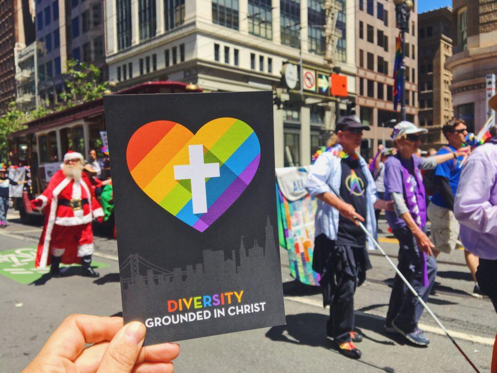 La Chiesa al gay Pride di San Francisco - L'evento migliore di San Francisco - la LGBTQ Pride Parade