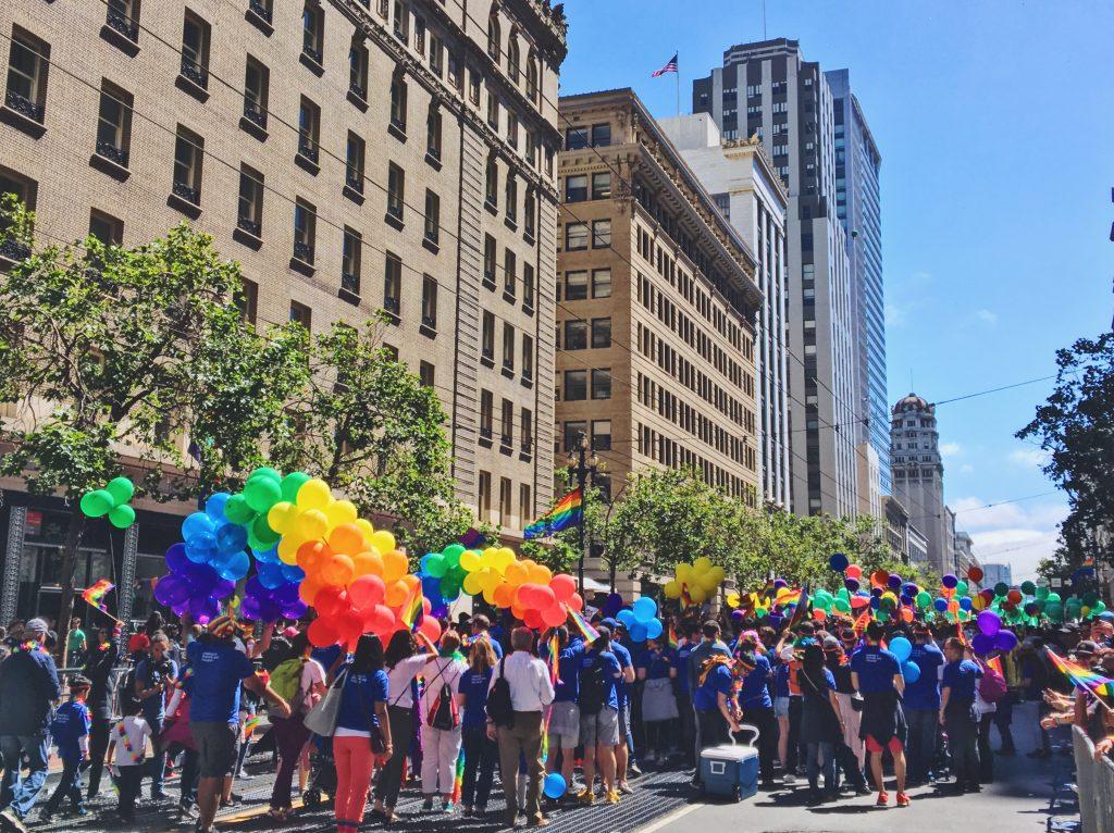 La Pride Parade- L'evento migliore di San Francisco - la LGBTQ Pride Parade