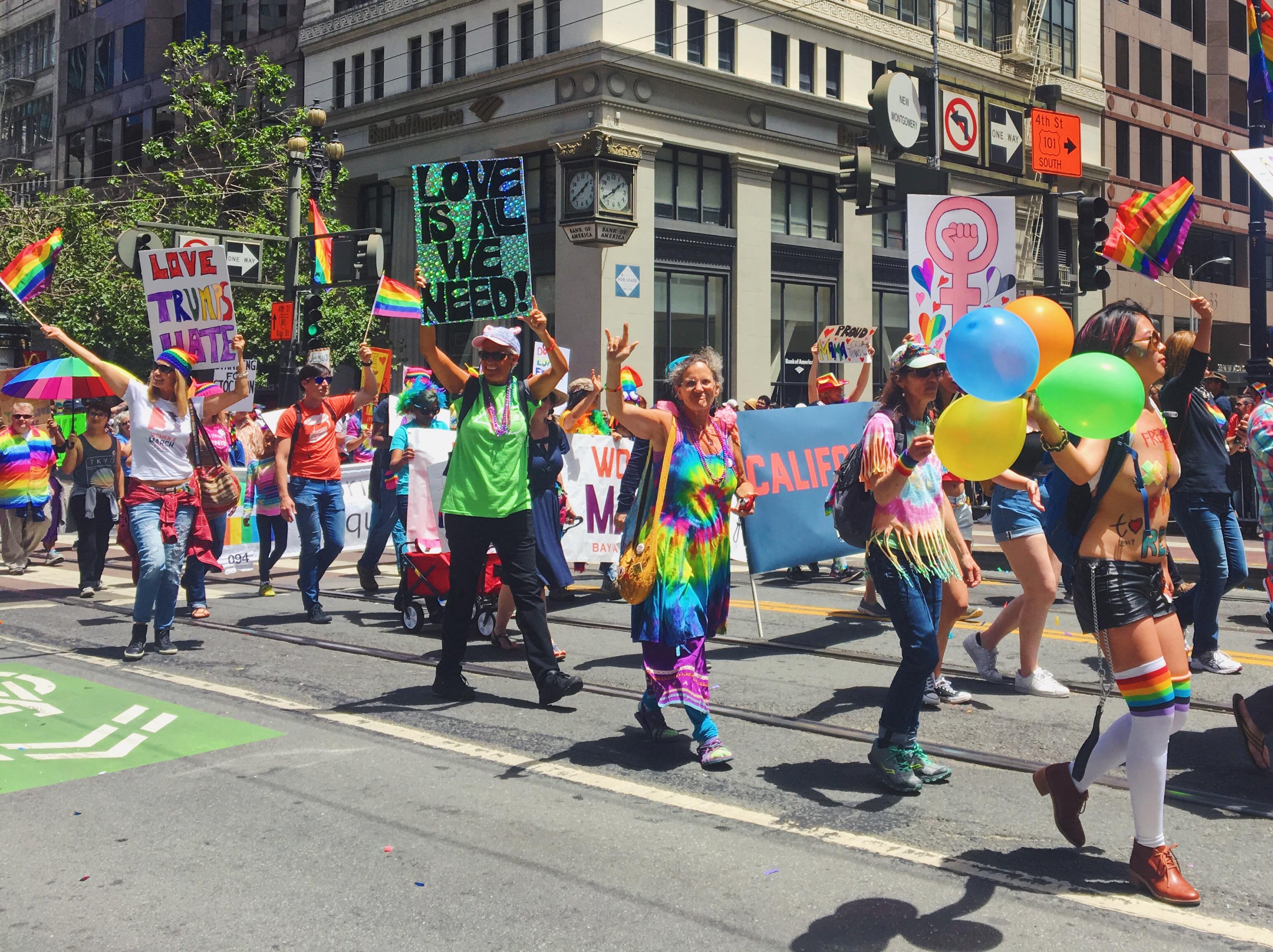 Love is all we need - L'evento migliore di San Francisco - la LGBTQ Pride Parade