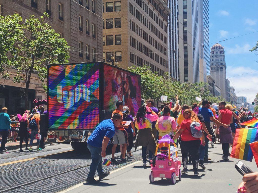 Lyft - L'evento migliore di San Francisco - la LGBTQ Pride Parade