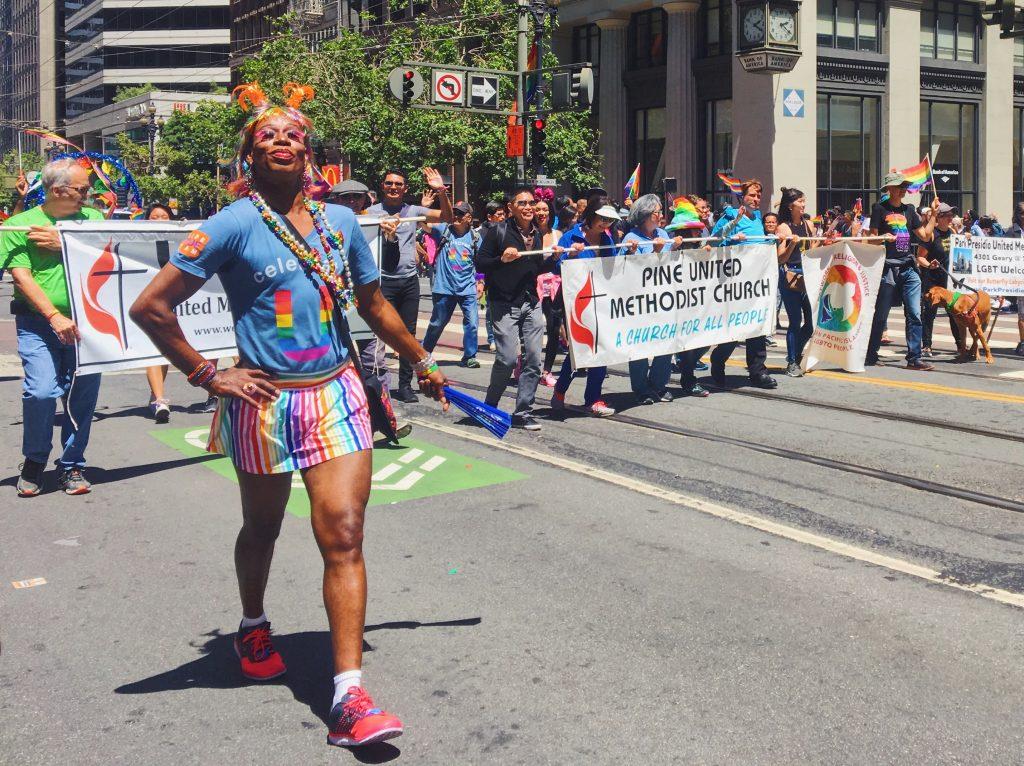 Methodist Church - L'evento migliore di San Francisco - la LGBTQ Pride Parade