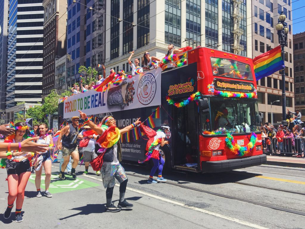 Proud to be real - L'evento migliore di San Francisco - la LGBTQ Pride Parade