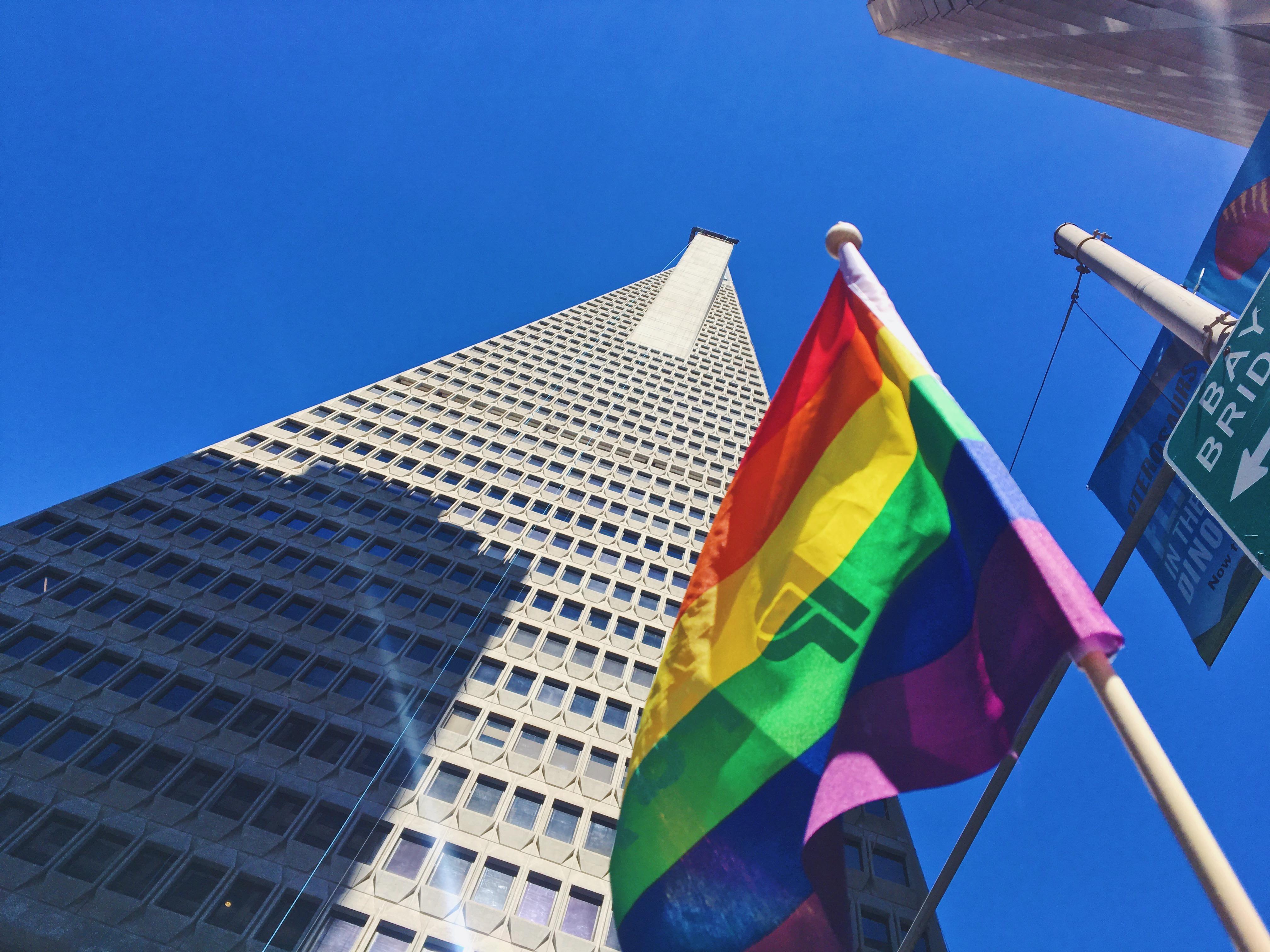 San Francisco simbolo Pride - L'evento migliore di San Francisco - la LGBTQ Pride Parade