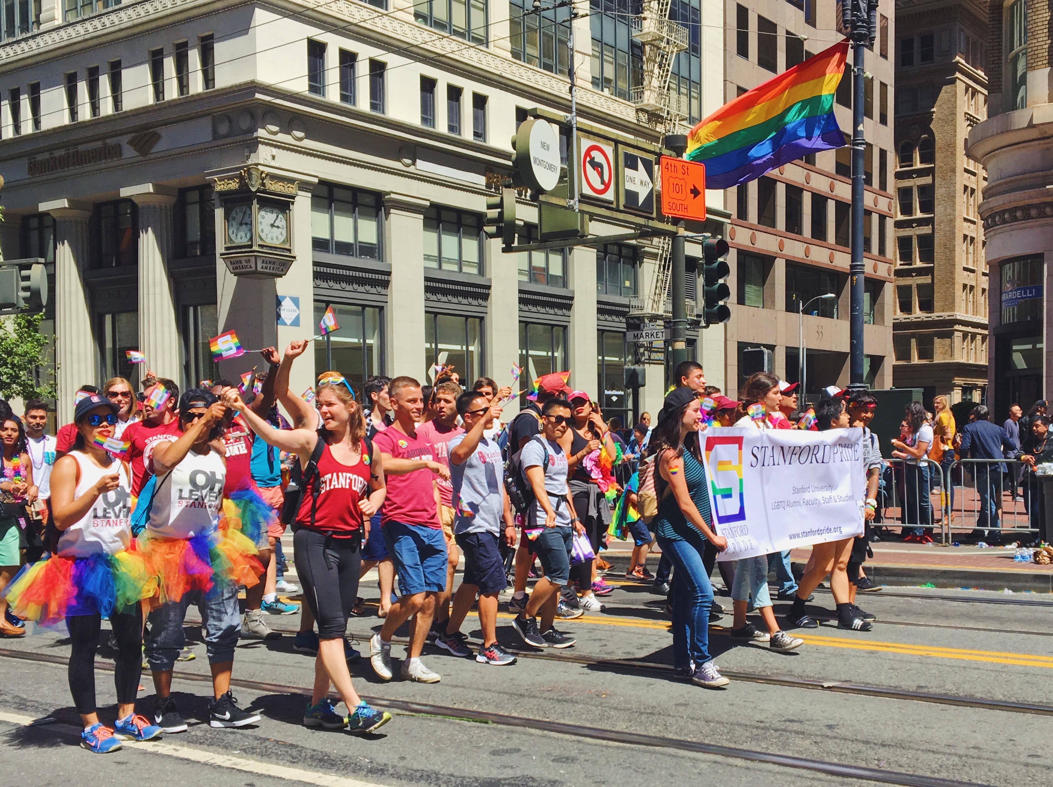 Stanford University - L'evento migliore di San Francisco - la LGBTQ Pride Parade