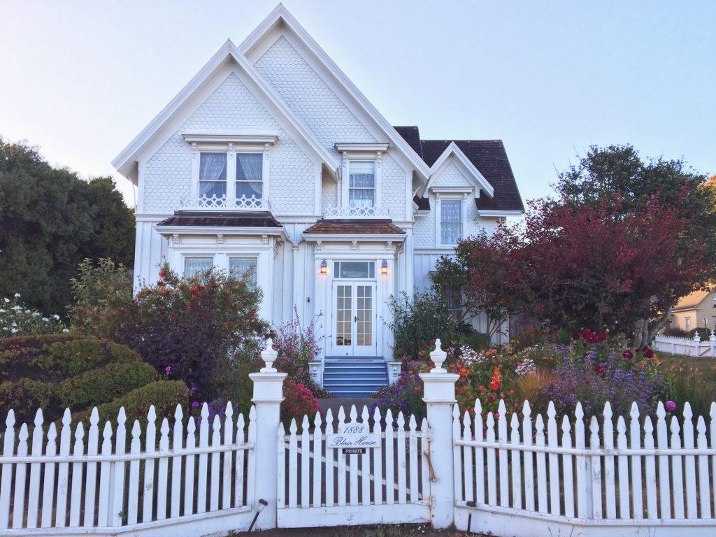 Cosa vedere a Mendocino in California - Blair House la casa di Jessica Fletcher dove e ambientato La signora in Giallo
