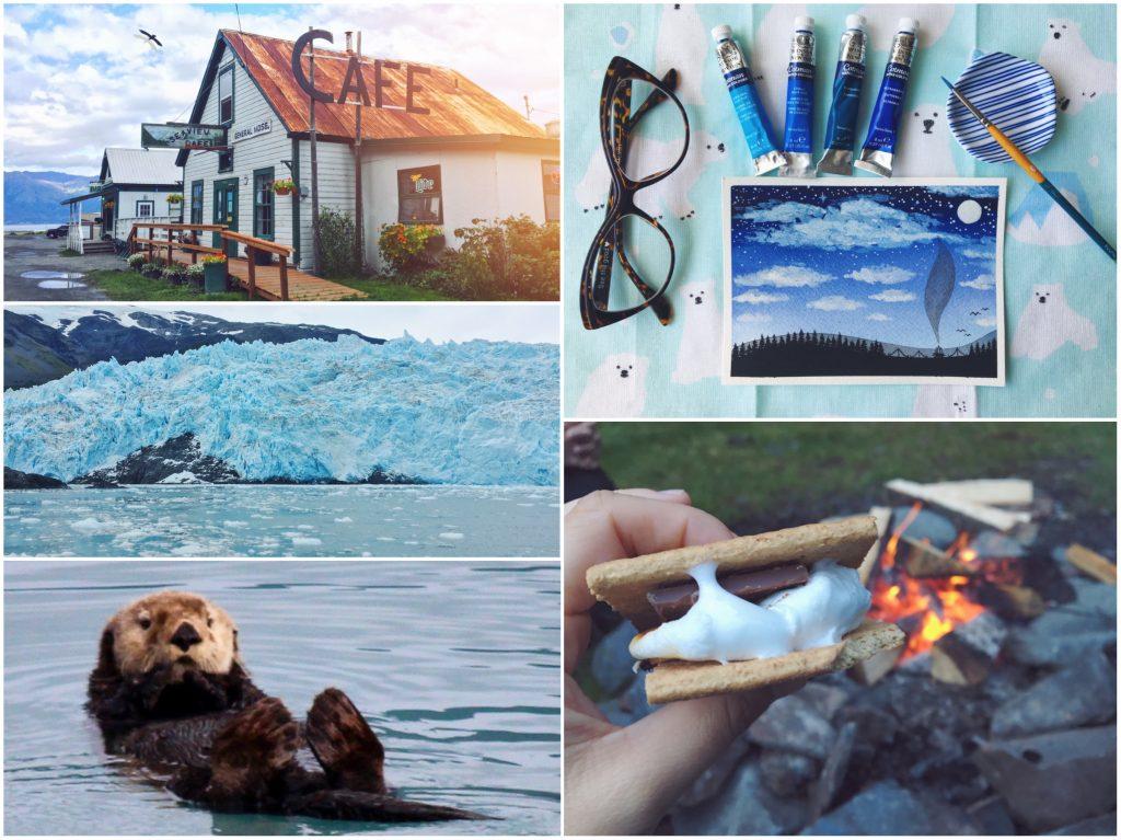 Diario brainstorming di un viaggio in Alaska