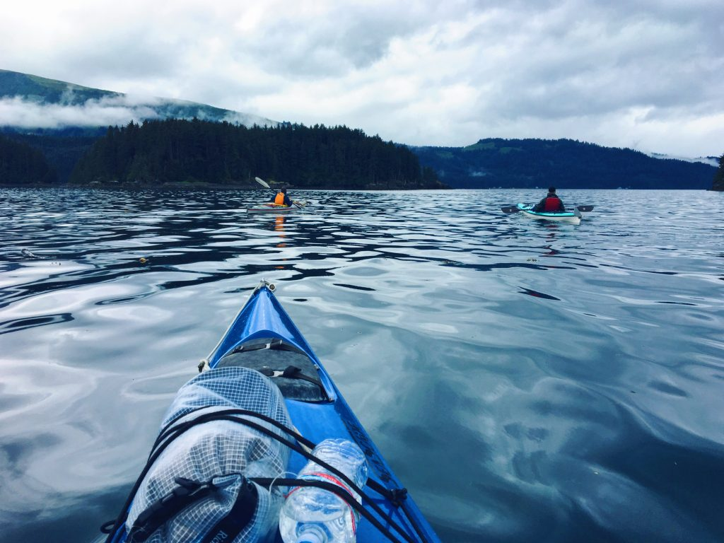 Kayak in Alaska a Seldovia