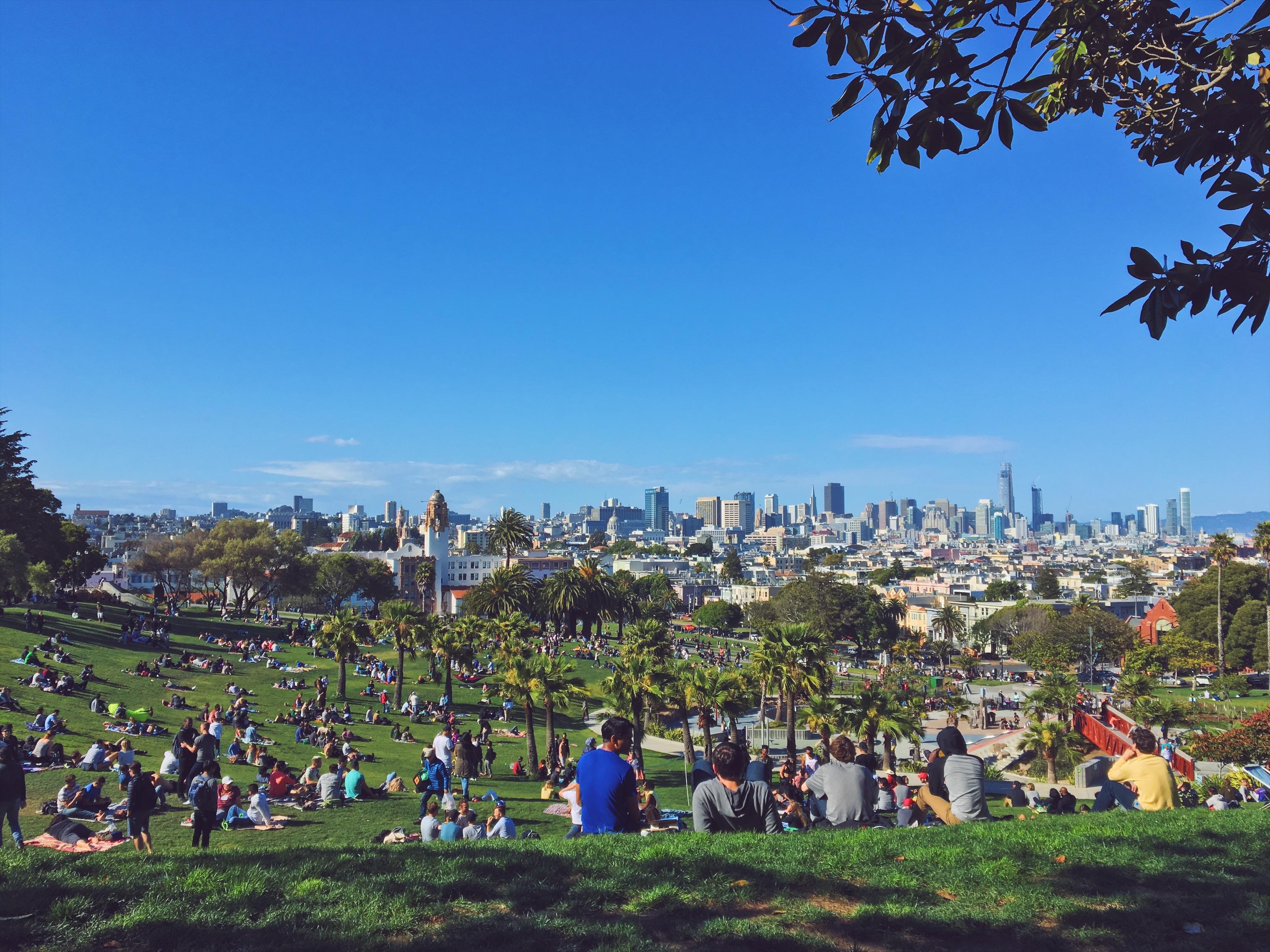 La vista piu bella di San Francisco