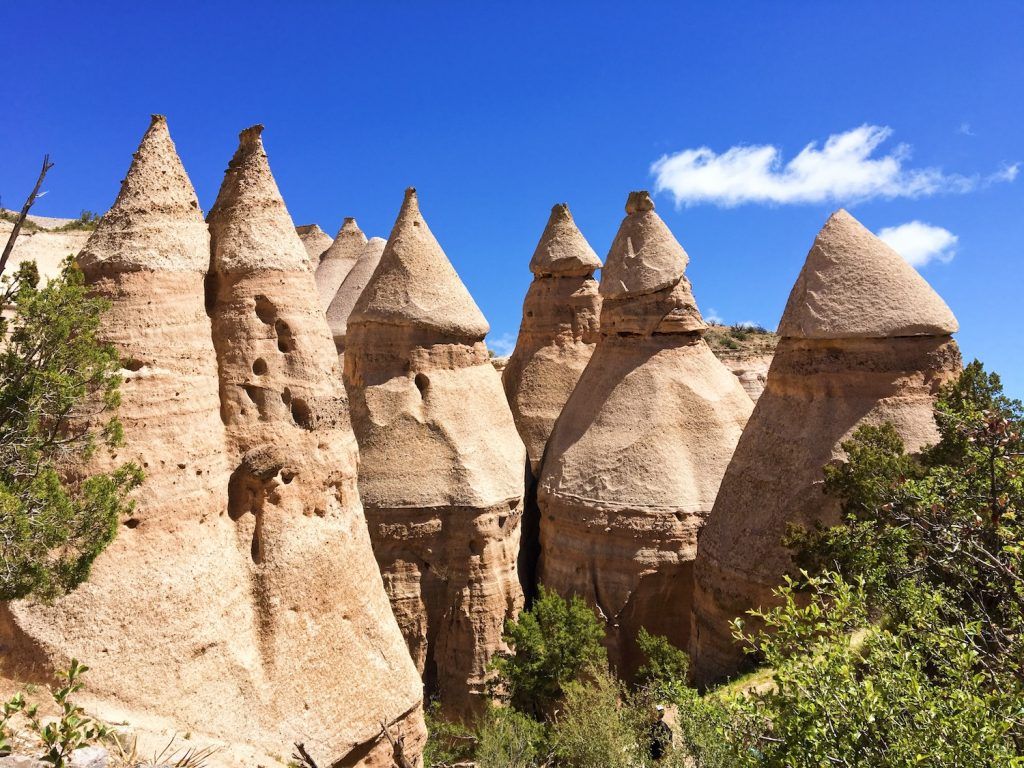 Kasha-Katuwe Tent Rocks National Monument - New Mexico