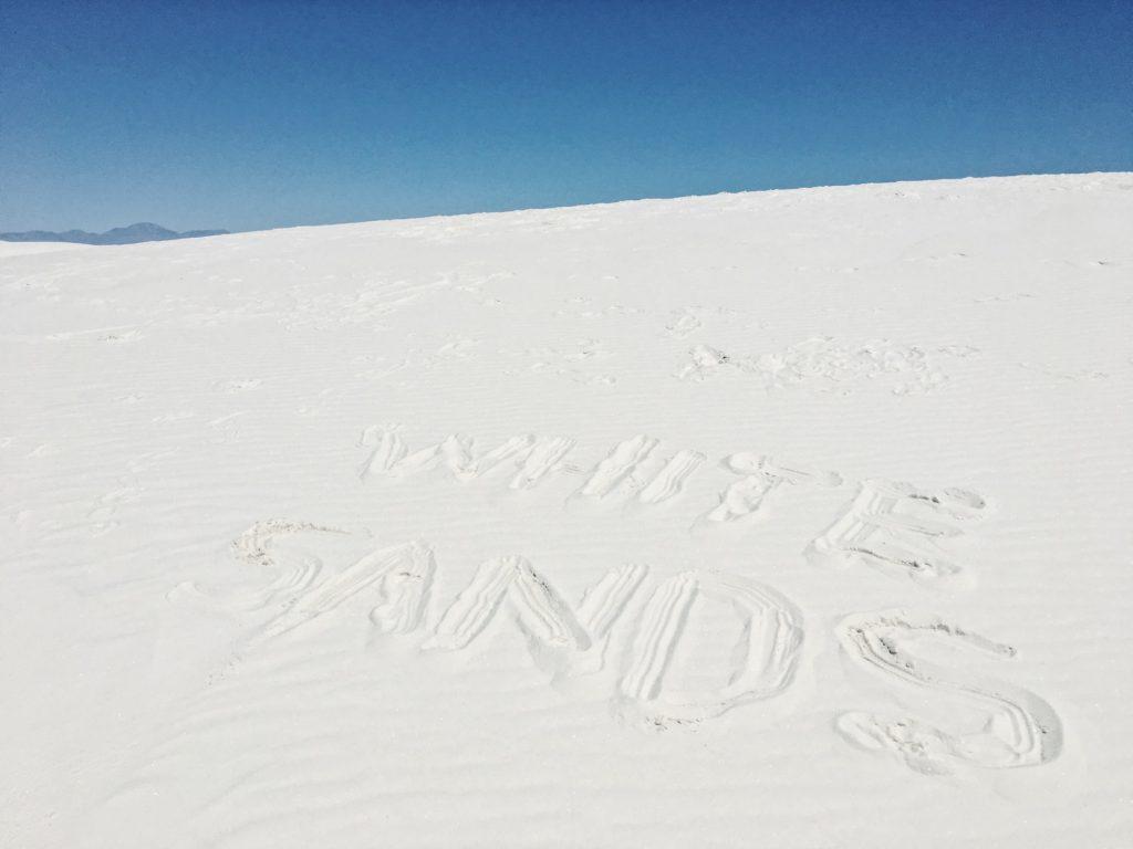 White Sands deserto di sabbia bianca - New Mexico - visitare