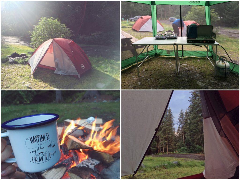 Campeggiare in Alaska - Itinerario di 10 giorni in Alaska - penisola del Kenai