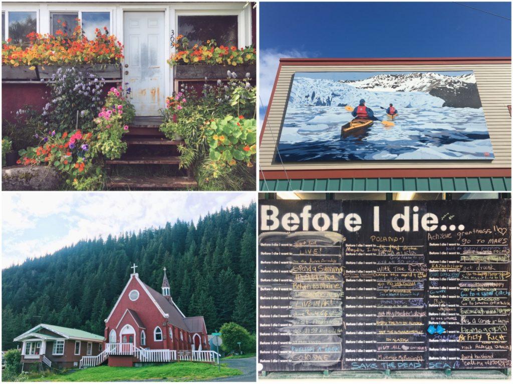 Cosa vedere a Seward tra murales e casette - Itinerario di 10 giorni in Alaska - penisola del Kenai