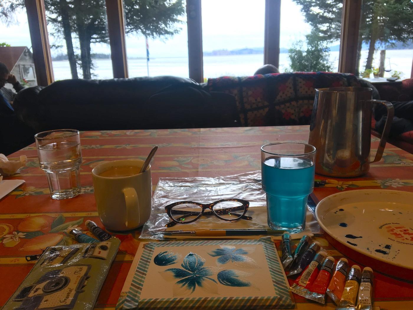 Dipingere in viaggio - Itinerario di 10 giorni in Alaska - penisola del Kenai
