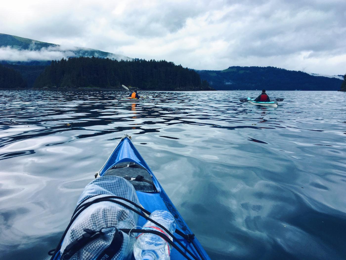 Fare kayak in Alaska tra i ghiacci - Itinerario di 10 giorni in Alaska - penisola del Kenai
