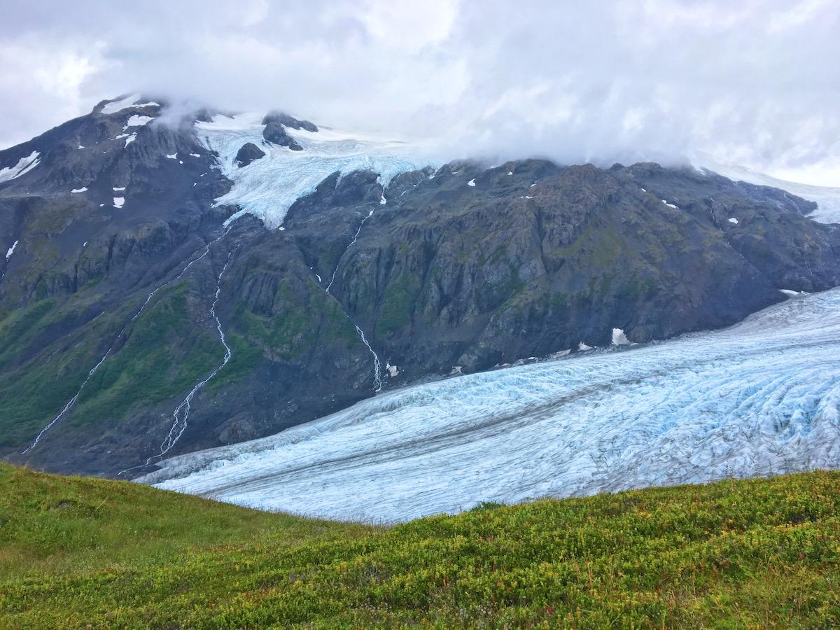 Ghiacciaio Exit - Campo di ghiaccio di Harding - Itinerario di 10 giorni in Alaska - penisola del Kenai