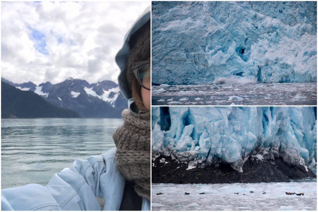 Ghiacciaio in Alaska - Itinerario di 10 giorni in Alaska - penisola del Kenai