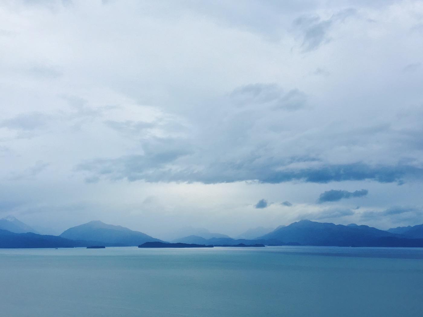 La vista su Kachemak Bay e Homer Spit - Itinerario di 10 giorni in Alaska - penisola del Kenai