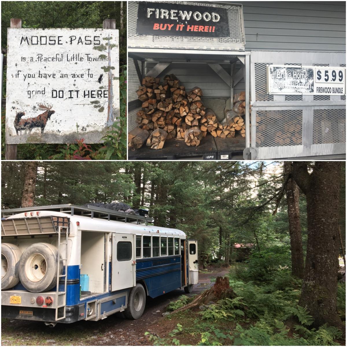 Moose Pass - Itinerario di 10 giorni in Alaska - penisola del Kenai