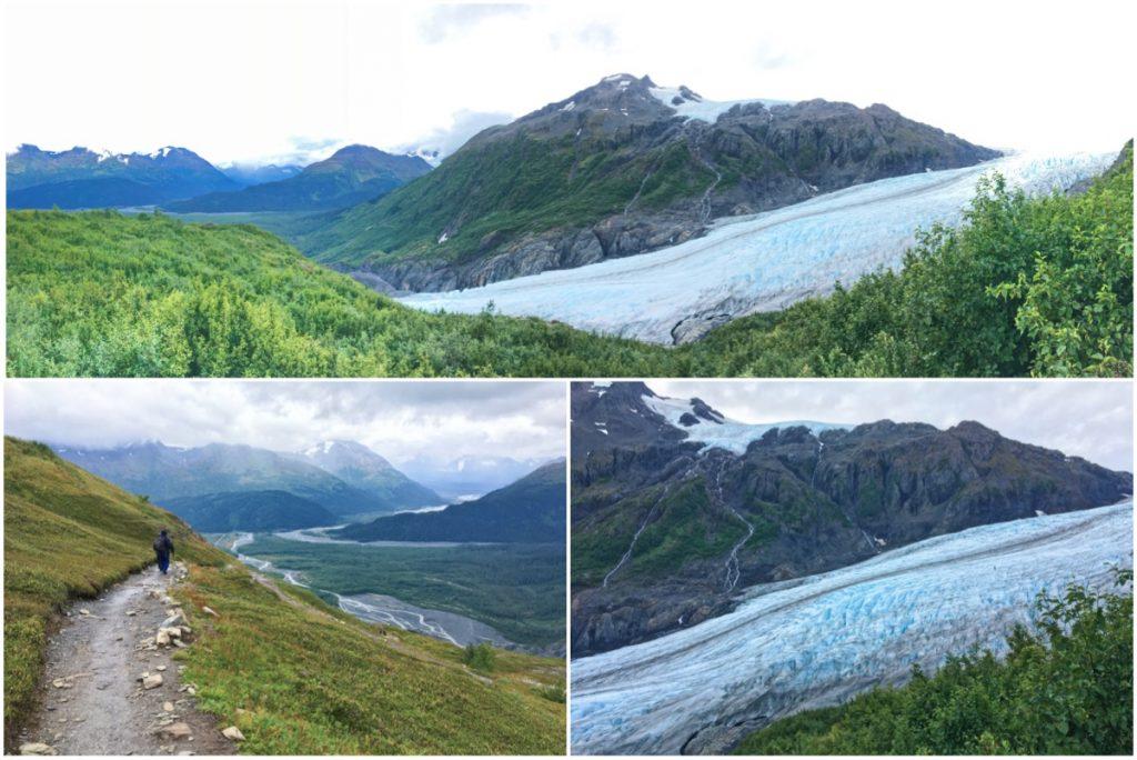 Sentiero per raggiungere il ghiacciaio Exit - Itinerario di 10 giorni in Alaska - penisola del Kenai