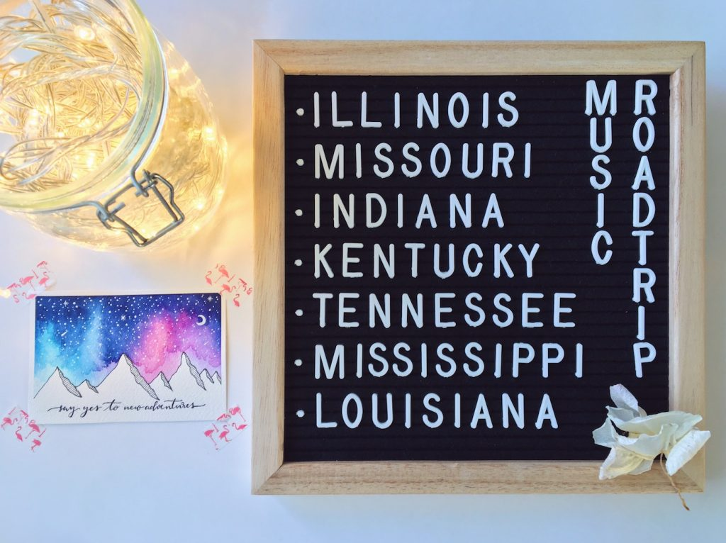 Itinerario road trip Mindwest e Sud Stati Uniti USA