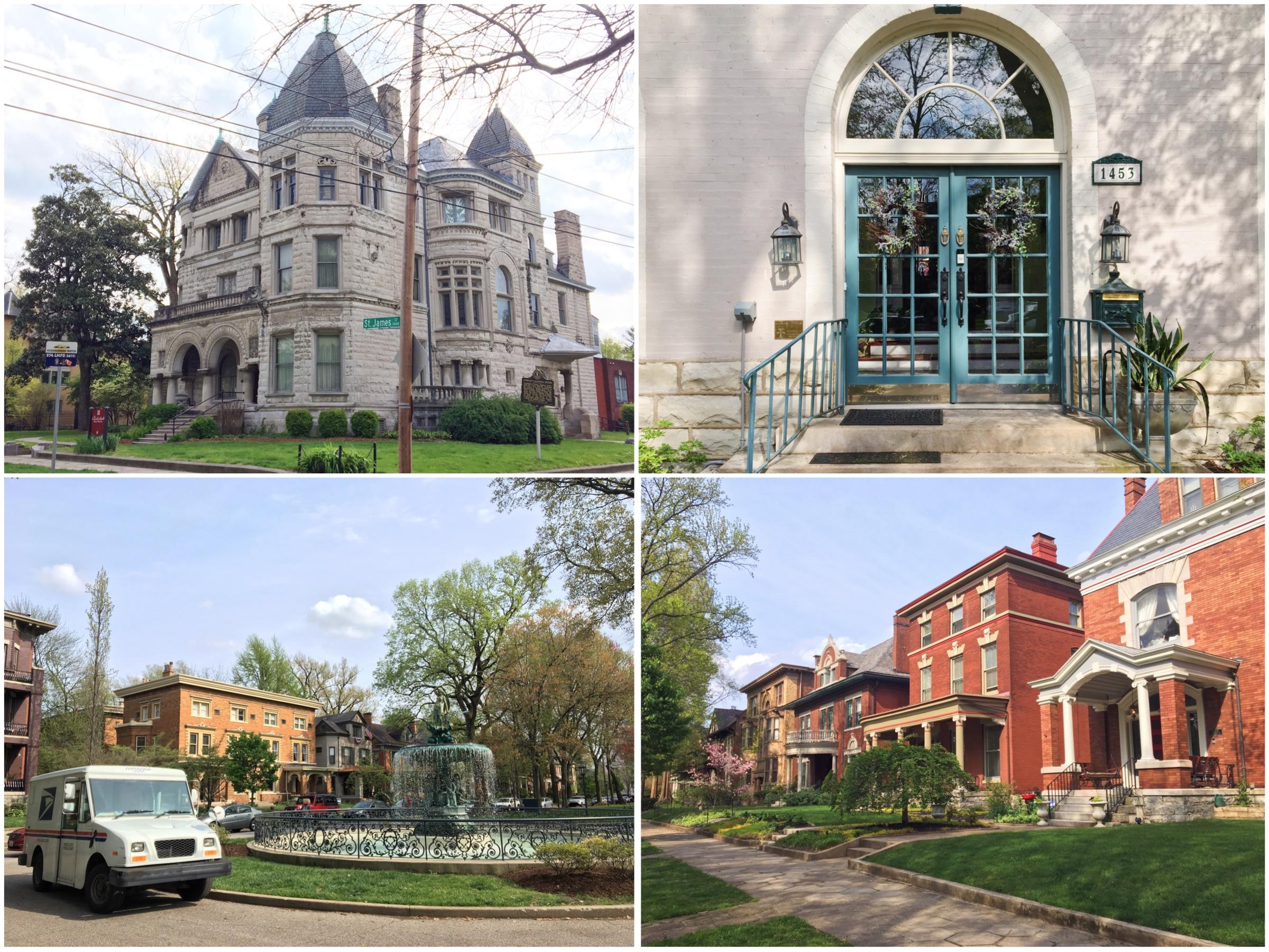 Visitare Old Louisville - Itinerario a piedi