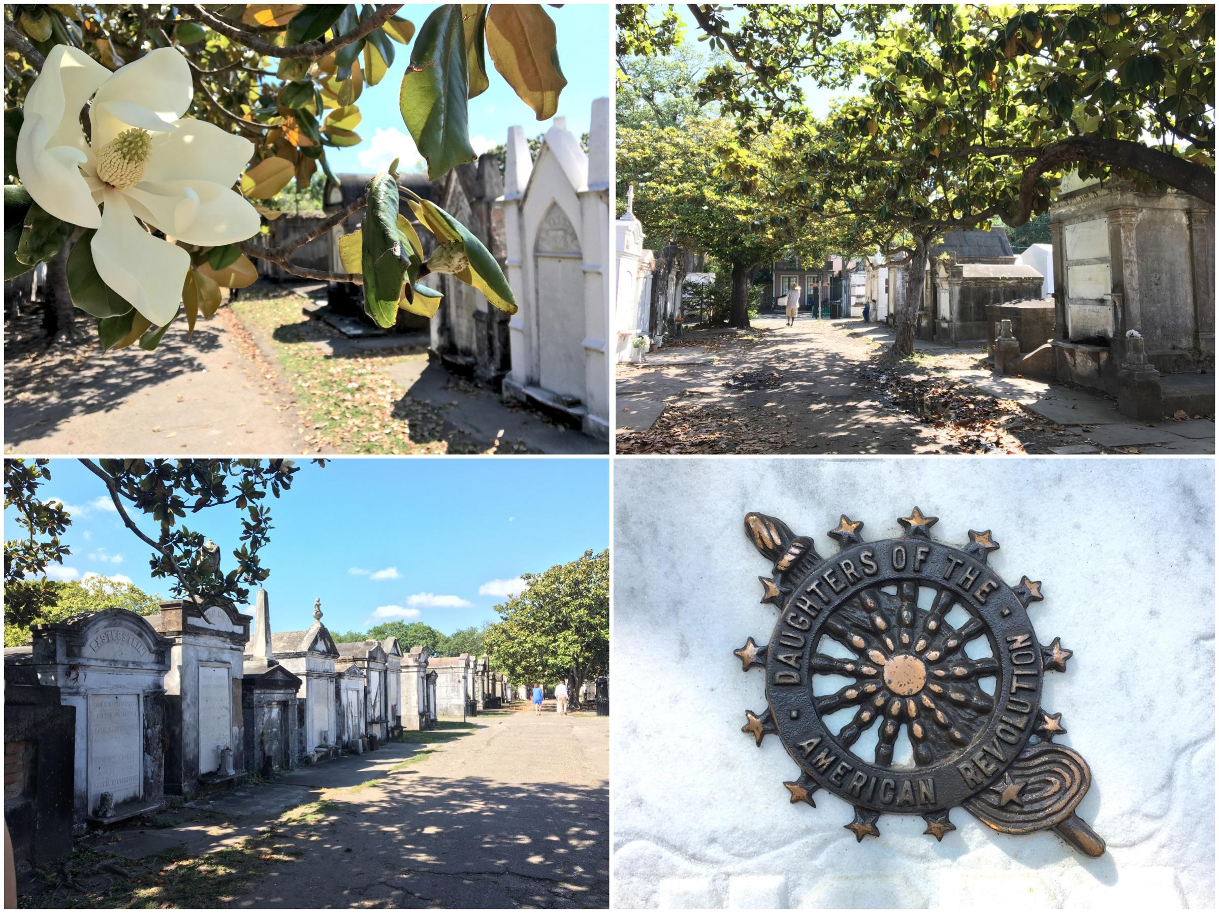 Visitare il cimitero storico Lafauyette di New Orleans