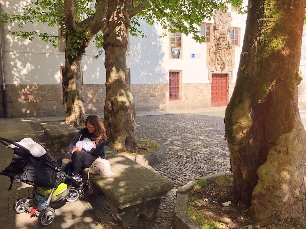 Allattare in pubblico in Spagna