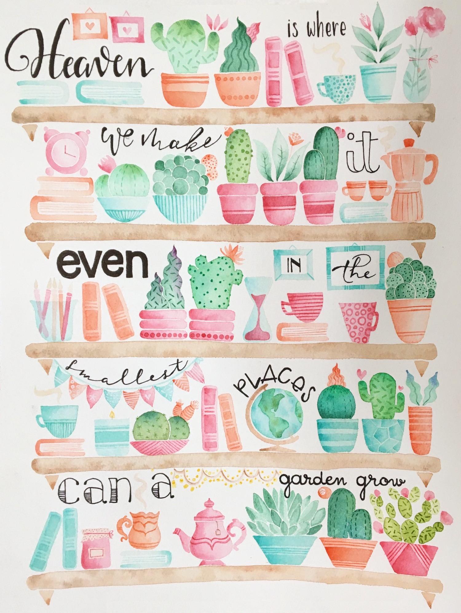Heaven is where we make it even in the smallest places can a garden grow - Dispacci da San Francisco - Viachesiva