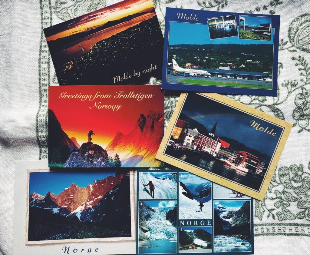 Un viaggio e' per sempre - insegnamenti dal mondo - Norvegia - cartoline